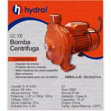 Bomba Centrifuga Qca100 1 Hp Hydral