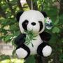 Ursinho Panda De Pelucia 18 Lindo Bambu Presente Brinquedo