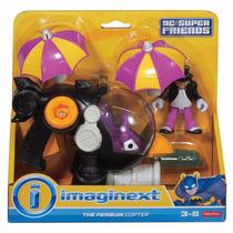 Boneco Imaginext Helicóptero Do Pinguim Original Cfc02