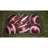 12 Esferas De 5cm De Diámetro Chirimbolos - Adornos Navidad