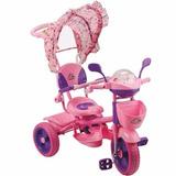 Triciclo Deluxe Con Capota Con Volado