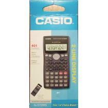 Calculadoras Científicas Casio Fx-570ms 401 Funciones, Nueva
