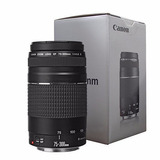 Lente Canon 75-300mm F/4-5.6 Iii-negro