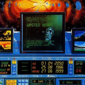 Iron Maiden Wasted Years Vinilo Importado Single 7 En Stock