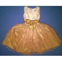 Vestido Largo De Gala Talla 4 Pieza Unica