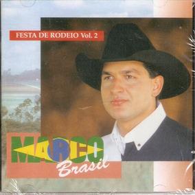 Cd Marco Brasil - Festa De Rodeio - Volume 2 - Novo***
