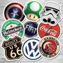 Adesivo Sticker Nerd Geek Game Beer Marcas Antigas Filme #g