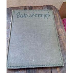 Libro Antiguo De Pintura, Ilustrado, Obra De Gainsborough