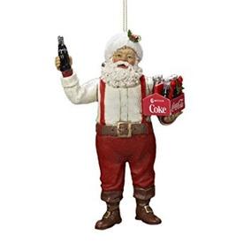 Decoración 6 Santa Claus Con Un Paquete De Seis Botellas De