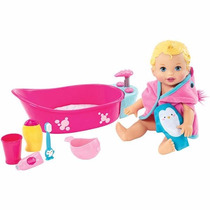 Little Mommy Baño De Burbujas Dtg64