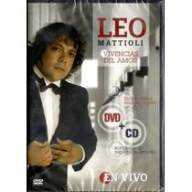 Leo Mattioli - Vivencias Del Amor Dvd + Cd - Los Chiquibum