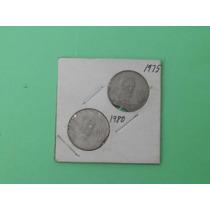 Super Ganga, 2 Monedas De 20 Cent. Incompletas Error