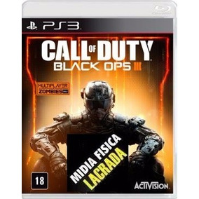 Call Of Duty Black Ops 3 Ps3 Bo3 Mídia Física Novo Lacrado