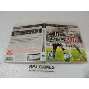 Pes 2012 Original Completa P/ Ps3 - Frete R$ 8