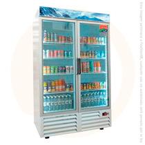 Refrigerador Industrial Exhibidor 2 Puertas Asber Armd-37