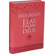 Bíblia Sagrada De Estudo Feminina Elas Falam Com Deus Ntlh