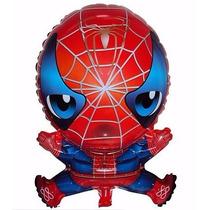10 Balão Homem Aranha Decoração Gás Hélio Ar Aniversário