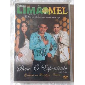 Dvd Limão Com Mel - Show O Espetáculo (novo/lacrado)