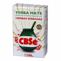 Erva-mate Argentina Cbsé Elaborada Hierbas Serranas 500g