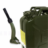 Galao C/ Bico P/ Combustivel Gasolina 20l Metal Jeep, Willys