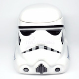 Taza Cerámica De Diseño Star Wars Casco Stormtrooper 475cc