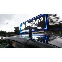 Taxi Display. Pantalla Para Publicidad En Taxis