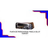 Punta Parachoque Trasero Izquierdo Silverado 2007 - 2015
