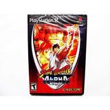 Street Fighter Alpha Anthology Nuevo Ps2