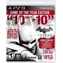 Batman Arkham City Goty Ps3 Original Físico En Disco