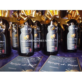 Botellita Vino Souvenir Trapiche Botellas