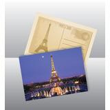 500 Postales Full Color 4/4 Papel Mate 350grs En 72 Hs.