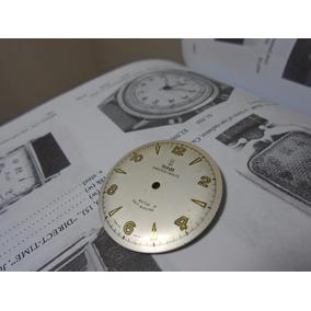 Mostrador Relógio Tudor Rolex Antigo Original Raro
