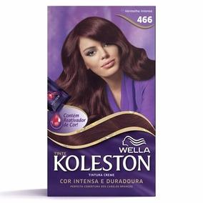 Tinta Creme Koleston Vermelho Intenso 466