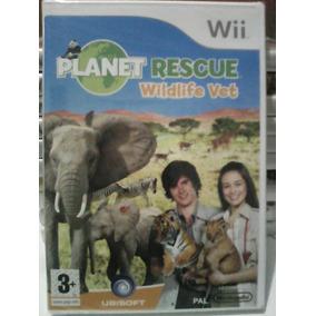 Planet Rescue Wildlife Vet - Wii - Eur Pal Lacrado Novo