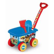 Caminhão De Praia Brinquedo Wagon Patrulha Canina Multibrink