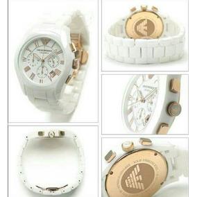Relógio Emporio Armani Ar1403 Cerâmica Branca Super Oferta!!