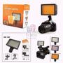 Iluminador Potente Hd 160 Led Canon Nikon P Bateria Ou Pilha