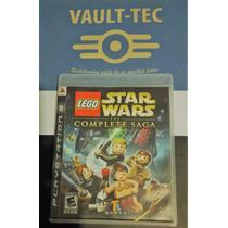 Lego Star Wars Saga Completa, Playstation 3, Ideal P/ Niños