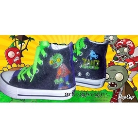 Botas Pintadas/customizadas Personalizadas Plants Vs Zombies