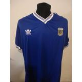 Camiseta Retro Argentina Azul Italia 90 Nro 10 Diego Armando