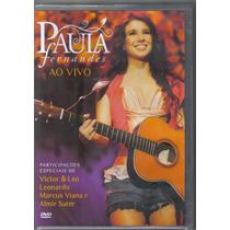 Paula Fernandes - Ao Vivo - Dvd Novo