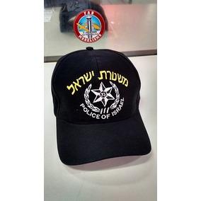 Boné Polícia De Israel Bordado 100% Algodão