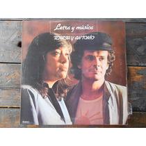 Teresa Y Antonio Letra Y Musica Lp Vinilo Promo Argentina