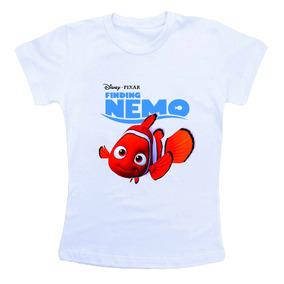 Camiseta Infantil Procurando Nemo Bn502