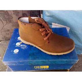 Zapato Marca 16 Hrs. 100% Cuero Color Café N° 39 Y 40