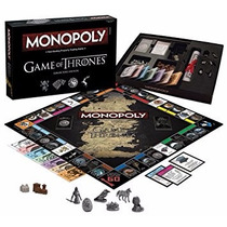 Monopoly Game Of Thrones, Ed. De Colección Original Ingeés
