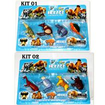 Era Do Gelo Kit Com 4 Miniaturas Brinquedo Promoção