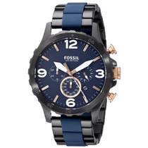 Relógio Masculino Fossil Nate - Jr1494 ( Nf Eletronica )