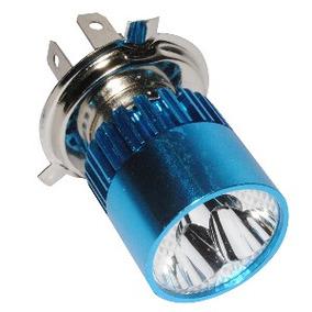 Foco Led Con Intensidad Xenon (h-4) 1 Pza 12vcc