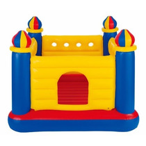 Brincolin Inflable Infantil Intex Castillo 4 Torres